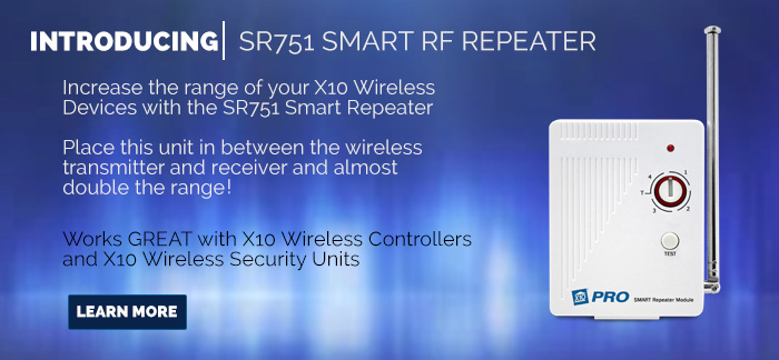 SR751 RF Smart Repeater