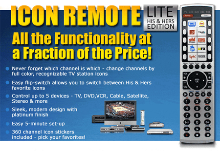 X10 Multi-User iconRemote LITE